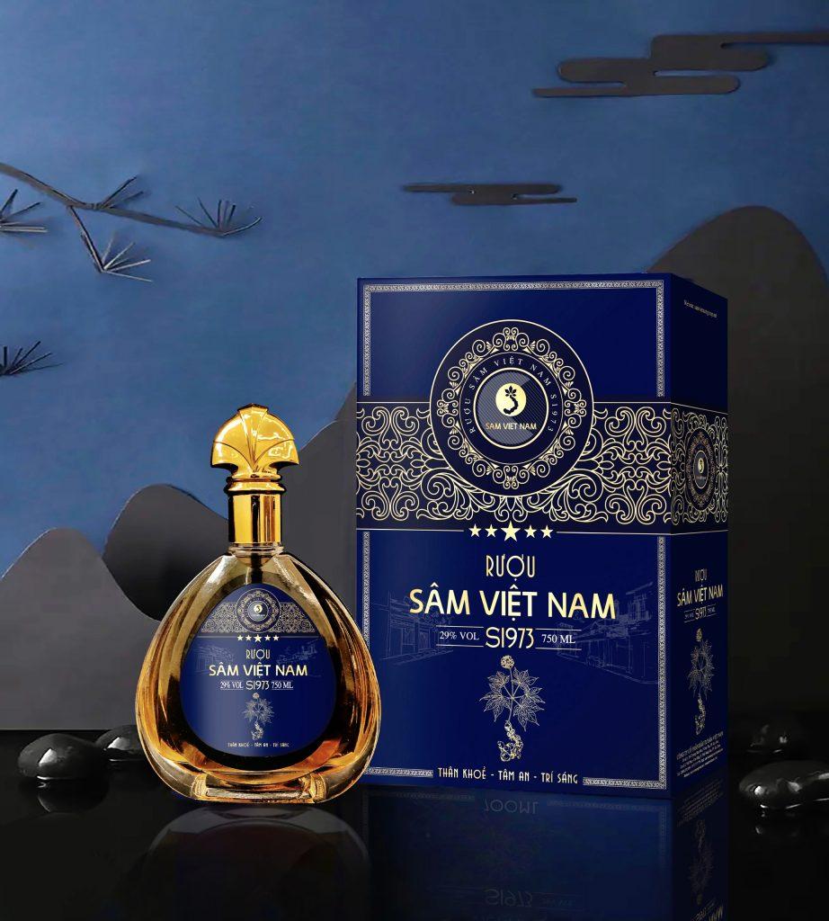 Rượu Sâm Việt Nam S1973
